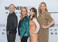 NEW YORK, NY - MAY 15:Mike Rubens, Samantha Bee, Amy Hoggart, and Allana Harkin attends the 2019 WarnerMedia Upfront presentation at Madison Square Garden   on May 15, 2019 in New York City.        <br /> CAP/MPI/JP<br /> ©JP/MPI/Capital Pictures