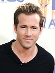 UNIVERSAL CITY, CA. - May 31: Actor Ryan Reynolds  arrives at the 2009 MTV Movie Awards held at the Gibson Amphitheatre on May 31, 2009 in Universal City, California.
