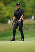 Thorbjorn Olesen (DEN) on the 11th green during the 3rd round at the PGA Championship 2019, Beth Page Black, New York, USA. 18/05/2019.<br /> Picture Fran Caffrey / Golffile.ie<br /> <br /> All photo usage must carry mandatory copyright credit (© Golffile | Fran Caffrey)