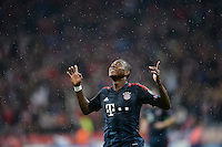 FUSSBALL   CHAMPIONS LEAGUE   SAISON 2013/2014   Vorrunde FC Bayern Muenchen - FC Viktoria Pilsen       23.10.2013 JUBEL FC Bayern Muenchen; Torschuetze zum 2-0 David Alaba