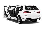 Car images close up view of a 2019 BMW X7 40i 5 Door SUV doors