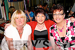 PARTY TIME: Enjoying June McCarthy's 40th birthday party at the River island Hotel Castleisland on Saturday night were Liz Broderick, June McCarthy, Siobha?n O'Callaghan and Ann Riordan.   Copyright Kerry's Eye 2008