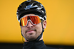 Defending champion Peter Sagan (SVK) Bora-Hansgrohe at sign on in Compiegne before the start of the 117th edition of Paris-Roubaix 2019, running 257km from Compiegne to Roubaix, Compiegne, France. 14th April 2019<br /> Picture: ASO/Pauline Ballet | Cyclefile<br /> All photos usage must carry mandatory copyright credit (&copy; Cyclefile | ASO/Pauline Ballet)
