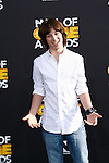 SANTA MONICA, CA - FEB 18: Leo Howard at the 2012 Cartoon Network Hall of Game Awards at Barker Hangar on February 18, 2012 in Santa Monica, California
