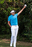Ian Poulter of United Kingdom reacts during the Venetian Macao Open 2016 at the Macau Golf and Country Club on 16 October 2016 in Macau, China. Photo by Marcio Machado / Power Sport Images