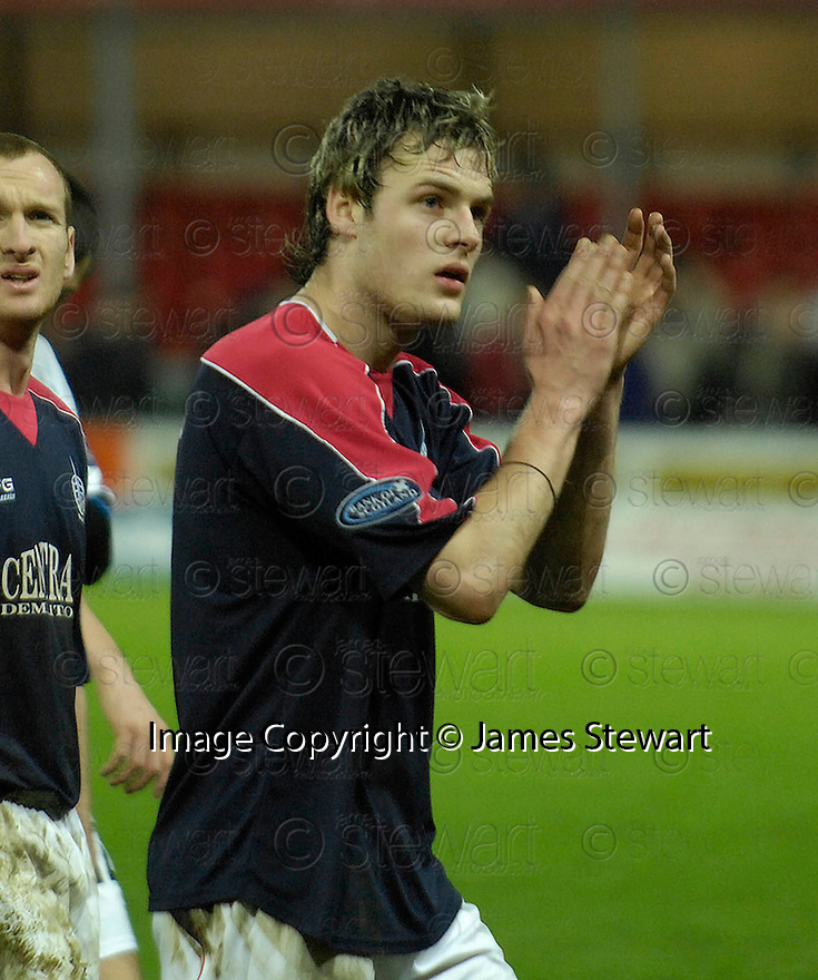 30/12/2006       Copyright Pic: James Stewart.File Name : sct_jspa16_falkirk_v_inverness.ANTHONY STOKES AT THE END OF THE GAME....James Stewart Photo Agency 19 Carronlea Drive, Falkirk. FK2 8DN      Vat Reg No. 607 6932 25.Office     : +44 (0)1324 570906     .Mobile   : +44 (0)7721 416997.Fax         : +44 (0)1324 570906.E-mail  :  jim@jspa.co.uk.If you require further information then contact Jim Stewart on any of the numbers above.........