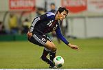 Ryoichi Maeda (JPN),.FEBRUARY 6, 2013 - Football / Soccer :.Kirin Challenge Cup 2013 match between Japan 3-0 Latvia at Home's Stadium Kobe in Hyogo, Japan. (Photo by Takamoto Tokuhara/AFLO)