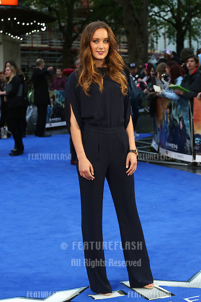 April Pearson at X-Men: Days Of Future Past - UK film premiere<br /> London, England. 12/05/2014 Picture by: Henry Harris / Featureflash