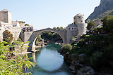 Die berühmte  Brücke in Mostar / famous bridge in Mostar