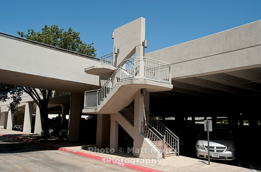 A parking garage at the Valley View Center Mall in Dallas, Texas, Saturday, August 21, 2010. ..MATT NAGER for the Wall Street Journal