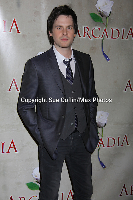 """arrives at """"Arcadia"""" - Broadway Opening Night on March 17, 2011 at the Ethel Barrymore Theatre, New York City, New York.  Arrivals, Curtain Call and Party after at Gotham Hall. (Photo by Sue Coflin/Max Photos)"""