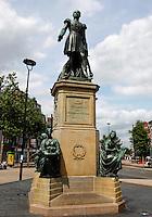 Standbeeld van Willem II in Tilburg