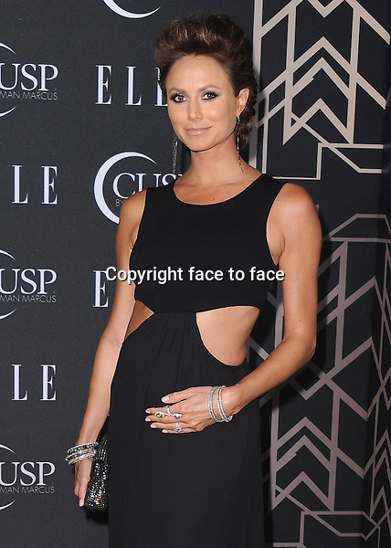 HOLLYWOOD, CA - APRIL 22:  Stacy Keibler at ELLE 5th Annual Women in Music at Avalon on April 22, 2014 in Hollywood, California.PGSK/MediaPunch<br />