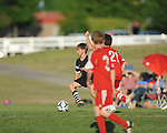 Germantown Legends' Clark Adams plays against Mid-South FC at Mike Rose Soccer Complex in Memphis, Tenn. on Monday, May 4, 2015.