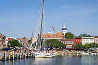 Downtown Annapolis, Maryland, USA