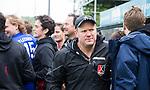 BLOEMENDAAL   - Hockey -  3e en beslissende  wedstrijd halve finale Play Offs heren. Bloemendaal-Amsterdam (0-3). coach Graham Reid (A'dam)    Amsterdam plaats zich voor de finale.  COPYRIGHT KOEN SUYK