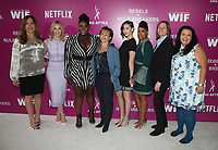 LOS ANGELES, CA - MAY 12: Kirsten Schaffer, Sarah Gadon, Danielle Brooks, Gabrielle Carteris, Alison Brie, Regina King, Cindy Hollan, at Netflix - Rebels And Rules Breakers For Your Consideration Event at Netflix FYSee Space At Raleigh Studios in Los Angeles, California on May 12, 2018. <br /> CAP/MPI/FS<br /> &copy;FS/MPI/Capital Pictures