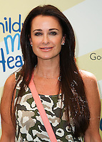 "BEVERLY HILLS, CA, USA - JUNE 14: Kyle Richards at the Children Mending Hearts' 6th Annual Fundraiser ""Empathy Rocks: A Spring Into Summer Bash"" on June 14, 2014 in Beverly Hills, California, United States. (Photo by Celebrity Monitor)"