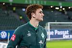 01.12.2019, Volkswagen Arena, Wolfsburg, GER, 1.FBL, VfL Wolfsburg vs SV Werder Bremen<br /> <br /> DFL REGULATIONS PROHIBIT ANY USE OF PHOTOGRAPHS AS IMAGE SEQUENCES AND/OR QUASI-VIDEO.<br /> <br /> im Bild / picture shows<br /> Joshua Sargent (Werder Bremen #19) <br /> bei Ankunft im Stadion, <br /> <br /> Foto © nordphoto / Ewert