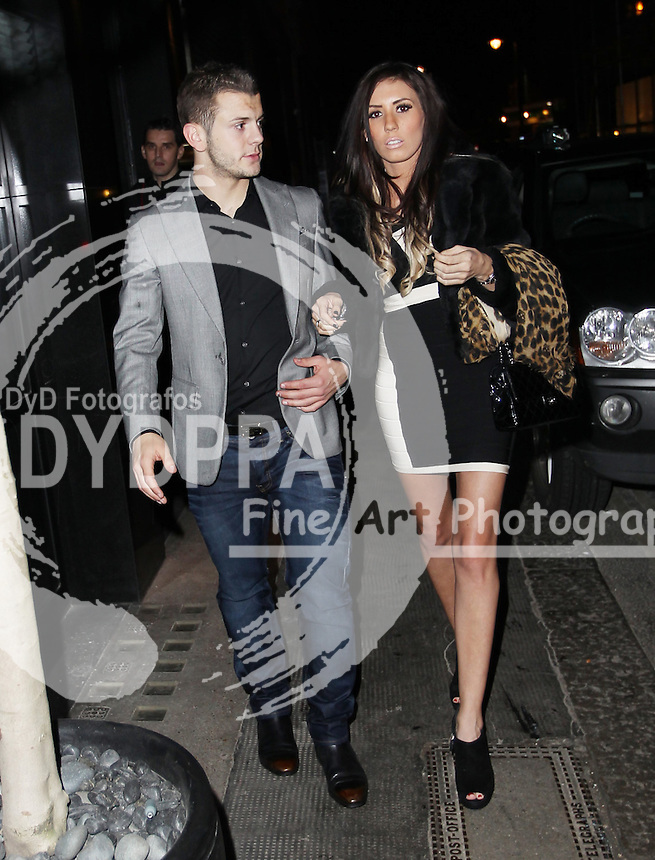 Arsenal FC Xmas Party at L'Atelier Restaurant in West St, London<br /> <br /> Jack Wilshere<br /> <br /> Photo: Iso / DYD Fotografos