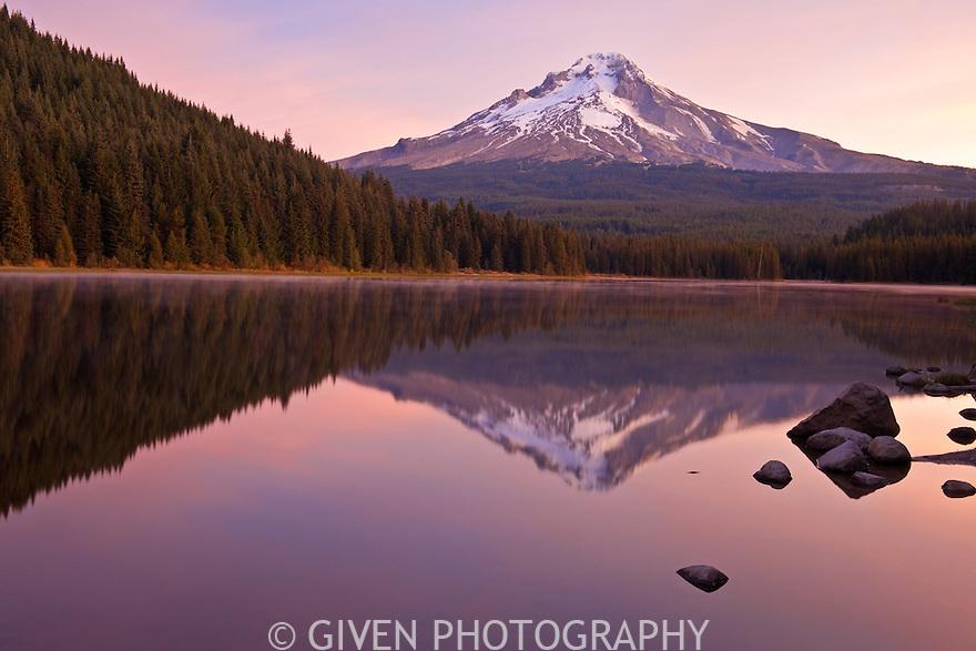 Mt Hood from Trillium Lake, Oregon