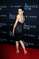 "LOS ANGELES - OCT 24:  Chloe Catherine Kim at the ""A Private War"" Premiere at the Samuel Goldwyn Theater on October 24, 2018 in Beverly Hills, CA"