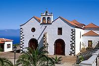 Spanien, Kanarische Inseln, La Palma,  Iglesia Nostra Senora de la Luz in Garafia