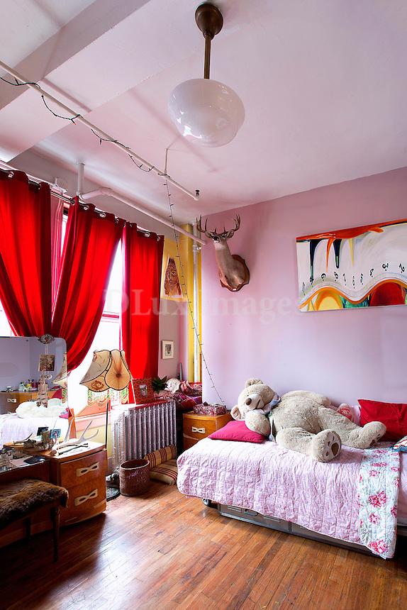 Bright child's room
