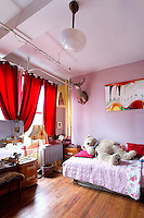 Bright child's room