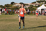 November 2, 2013; Malibu, CA, USA; Pepperdine runner Torin Wile (52) during the WCC Cross Country Championship at Alumni Park.