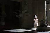 London, UK. 19 November 2015. Yvonne Howard as Katisha. Dress rehearsal for the Gilbert and Sullivan comic opera The Mikado at the London Coliseum. Jonathan Miller's production of The Mikado returns to the Coliseum celebrating 200 performances on stage. Performances start on 21 November 2015 for 13 performances until 6 February 2016. With Robert Lloyd as The Midado, Anthony Gregory as Nanki-Poo, Richard Suart as Ko-Ko, Mary Bevan as Yum-Yum and Yvonne Howard as Katisha. Photo: Bettina Strenske