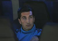 FUSSBALL   CHAMPIONS LEAGUE   SAISON 2011/2012  Achtelfinale Rueckspiel 14.03.2012 Real Madrid  - ZSKA Moskau  Nuri Sahin (Real Madrid) nur auf der Ersatzbank