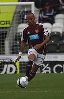Mehdi Taouil in the St Mirren v Heart of Midlothian Clydesdale Bank Scottish Premier League match played at St Mirren Park, Paisley on 15.9.12.