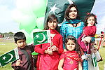 The Adil Family celebrating Pakistani Independence Day in Rose Hall...Picture Jenny Matthews/Newsfile.ie