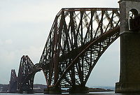 Technology: Scotland--Firth of Forth Railway Bridge, 1881-1890. Sir John Fowler and Sir Benjamin Baker. Photo '90.