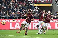 gol Patrick Cutrone Goal Milan 1-1 <br /> Milano 2-12-2018 Stadio San Siro Football Calcio Serie A 2018/2019 AC Milan - Parma Foto Image Sport / Insidefoto