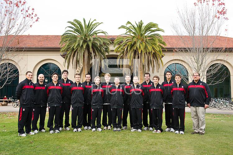 Stanford, Ca - Saturday, November 17, 2011: Men's Gymnastics Team Photo 2011.