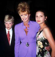 Eric Trump Ivana Trump Ivanka Trump 1995<br /> Photo By John Barrett/PHOTOlink