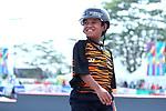 Nuriman Amri (MAS), <br /> AUGUST 28, 2018 - Skateboarding : <br /> Men's Park Qualification<br /> at Jakabaring Sport Center Skatepark <br /> during the 2018 Jakarta Palembang Asian Games <br /> in Palembang, Indonesia. <br /> (Photo by Yohei Osada/AFLO SPORT)