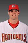 14 March 2008: ..Portrait of Josh Wilkie, Washington Nationals Minor League player at Spring Training Camp 2008..Mandatory Photo Credit: Ed Wolfstein Photo