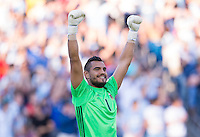 Foxborough, MA - Saturday June 18, 2016: Sergio Romero during a Copa America Centenario quarterfinal match between Argentina (ARG) and Venezuela (VEN)  at Gillette Stadium.