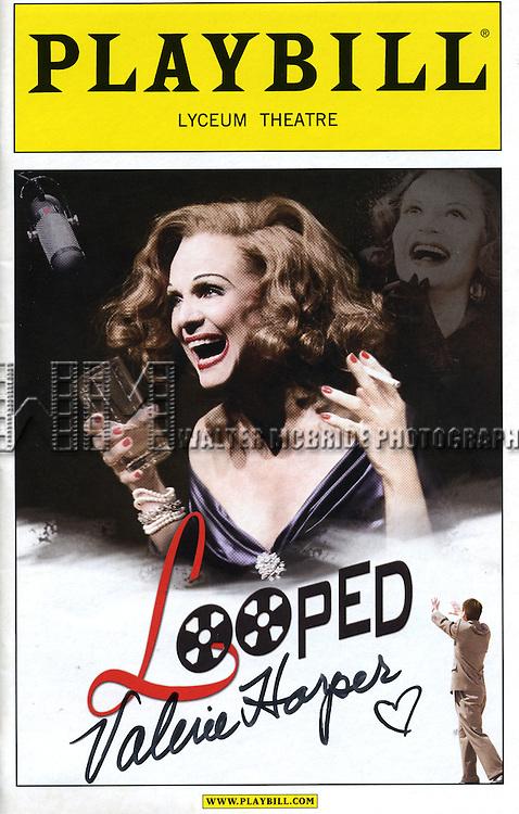 Valerie Harper starring in 'Looped'  - Playbill