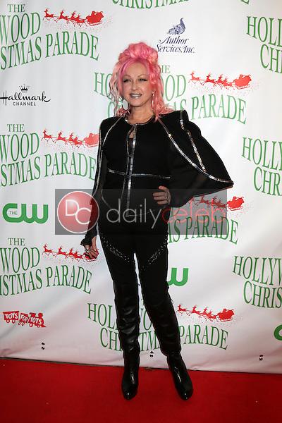 Cyndi Lauper<br /> at the 85th Annual Hollywood Christmas Parade, Hollywood Boulevard, Hollywood, CA 11-27-16<br /> David Edwards/DailyCeleb.com 818-249-4998