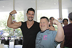 Ryan Paevey & Troy - A Painting Party where actors and children and adults do paintings to be auctioned off at the Night of Stars and on the Marco Island Princess- Actors from Y&R, General Hospital and Days donated their time to Southwest Florida 16th Annual SOAPFEST - a celebrity weekend May 22 thru May 25, 2015 benefitting the Arts for Kids and children with special needs and ITC - Island Theatre Co. on May 23 , 2015 on Marco Island, Florida. (Photos by Sue Coflin/Max Photos)