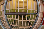 A bar spreader that was used during an escape at Alcatraz in San Francisco, California. (Photo by Brian Garfinkel)