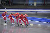 SCHAATSEN: IJSSTADION THIALF: 11-06-2013, Training zomerijs, ©foto Martin de Jong