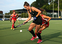 Tarryn Davey. Blacksticks Women's training game v Chile ahead of the 2019 FIH International Pro League Tournament, Grammar Hockey Turf, Auckland, New Zealand. Monday 17  December 2018. Photo: Simon Watts/Hockey NZ