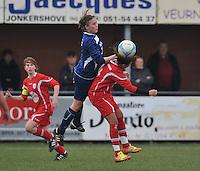 2012-03-03 Famkes Merkem - Melle Ladies