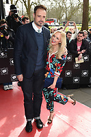 Jamie Theakston &amp; Emma Bunton at the TRIC Awards 2017 at the Grosvenor House Hotel, Mayfair, London, UK. <br /> 14 March  2017<br /> Picture: Steve Vas/Featureflash/SilverHub 0208 004 5359 sales@silverhubmedia.com