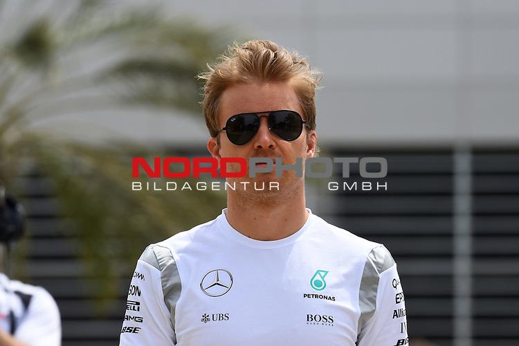 01.04.. bis 03.04.2016 International Circuit, Sakhir, BRN, FIA, Formel 1, Grand Prix von Bahrain, Race 03, im Bild<br /> Nico Rosberg (GER#6), Mercedes AMG Petronas Formula One Team<br /> Foto &copy; nordphoto /  Bratic